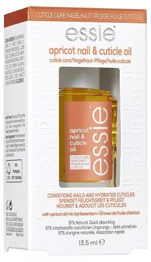 ESSIE Trattamento olio per Cuticole , Azione rinforzante per unghie e cuticole, Formula arricchita con olio di albicocca, Apricot